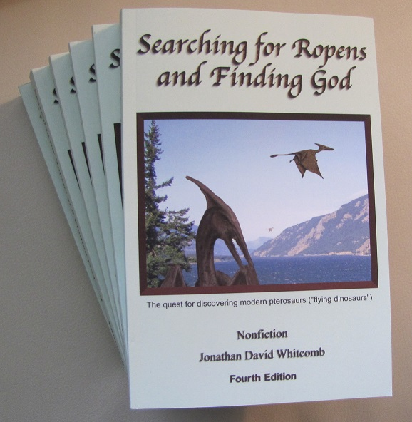 cryptozoology book about living pterosaurs