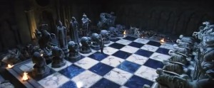 Real Wizards' Chess in Harry Potter movie