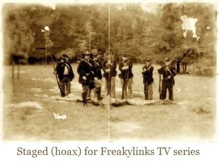 Freakylinks TV show hoax photograph