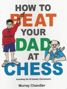 chess book with combinations and tactics