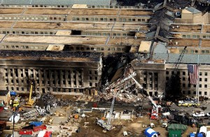 destruction of part of the Pentagon