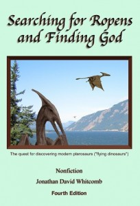 paperback book on modern pterosaurs