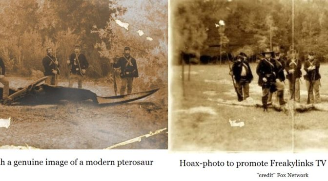 genuine versus hoax photo