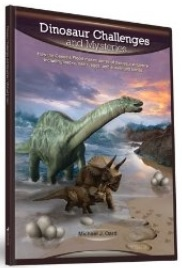 "Nonfiction book - ""Dinosaur Challenges and Mysteries"" - by Michael Oart - cover"