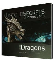 "Cover of the book ""Dire Dragons"" - ""Untold Secrets of Planet Earth"""
