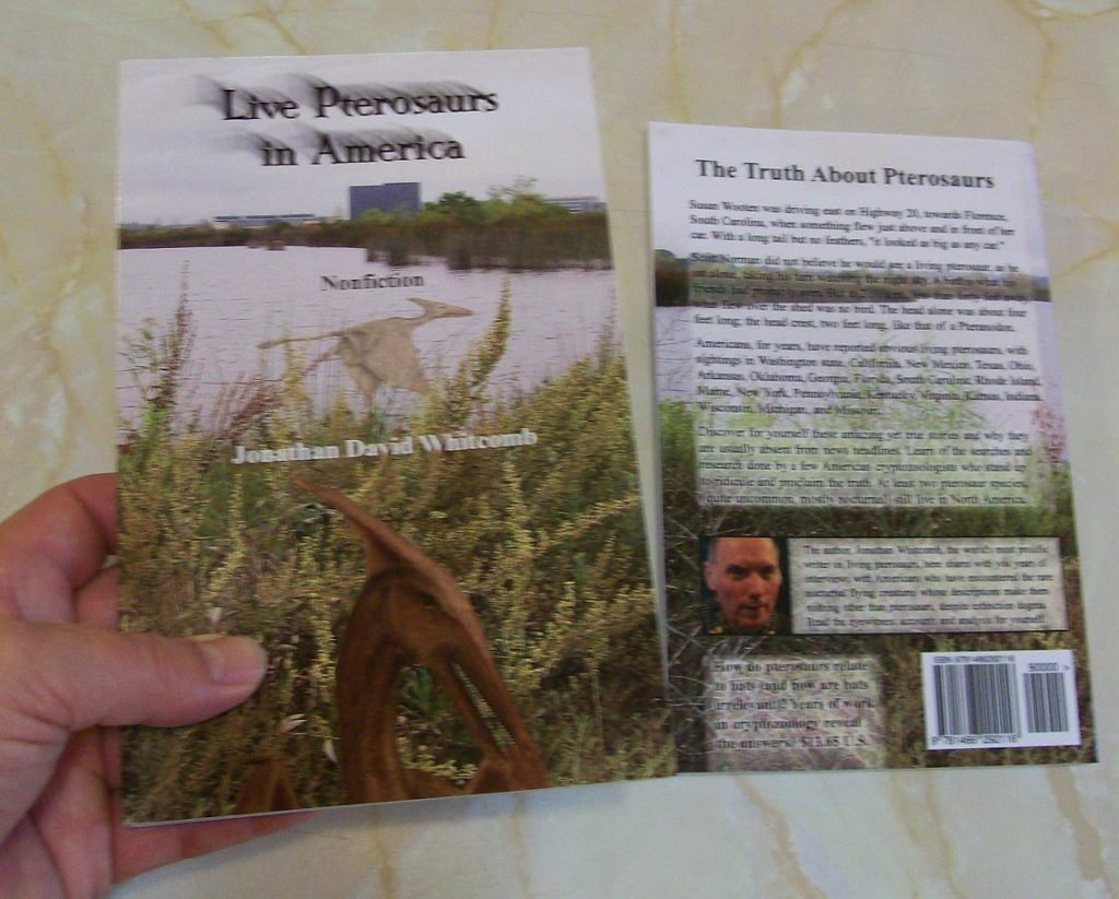"Jonathan Whitcomb's ""Live Pterosaurs in America"" - 3rd edition"